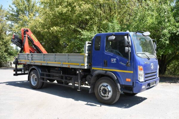 Бортовой автомобиль DАYUN CGC1120 с КМУ Palfinger PK10000